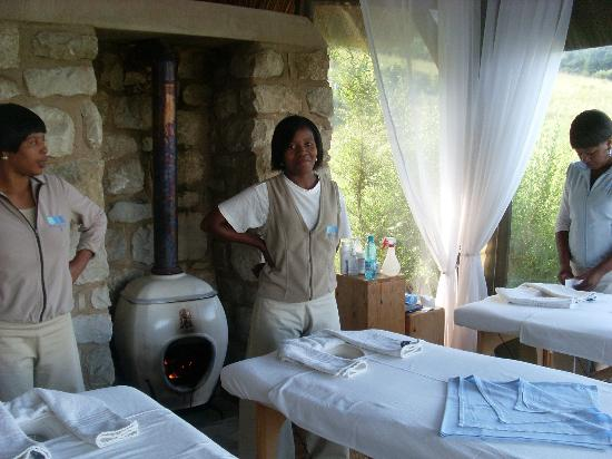 Indigo Fields Farm House and Spa : Swedish Massage Therapist - highlight of the day