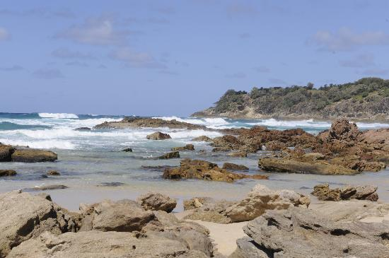 Blue Lake National Park: A view from Camel rock along Frenchmans beach