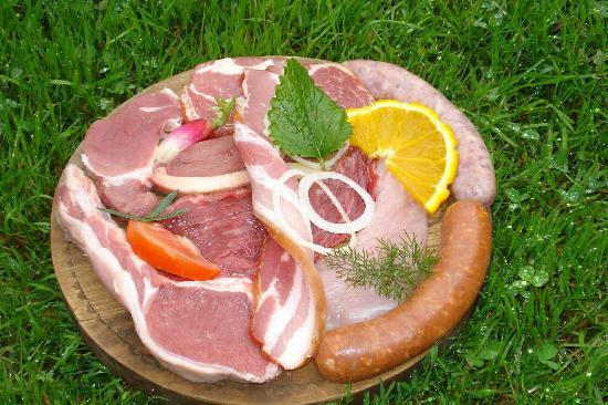 Les Chatelmines La Bresse : Planche de viande au kota grill