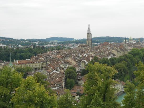 Rose Garden (Rosengarten) : View of Bern Old Town