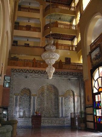 Diwane Hotel : Riad d'entrée