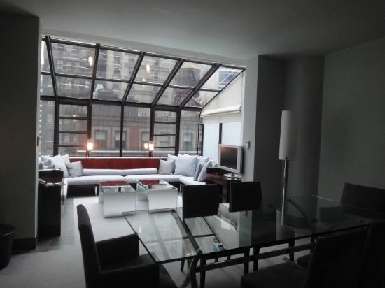 Royalton New York Hotel Huge Living Room