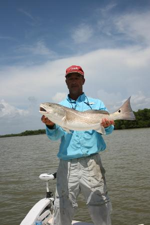 Captain Mike Merritt's Native Guide Service: A beautiful Redfish