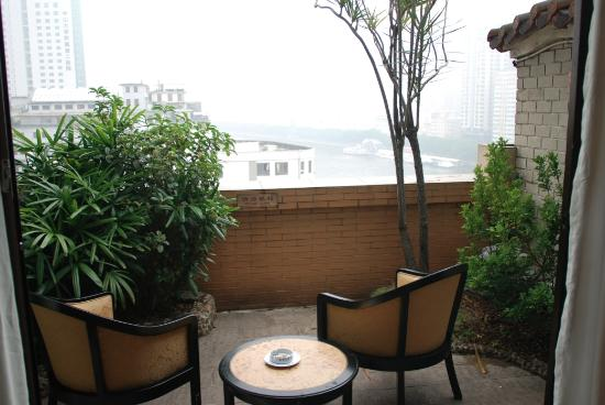 Southern Mansion Hotel : Blick auf den Pearl river