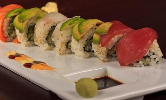 Blue Morel Restaurant: Sushi Rainbow Roll