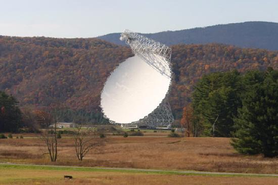 National Radio Astronomy Observatory: the GBT telescope