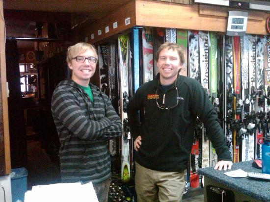 Incline Ski & Board Shop: Two of our fantastic owners, the McMahon borhters