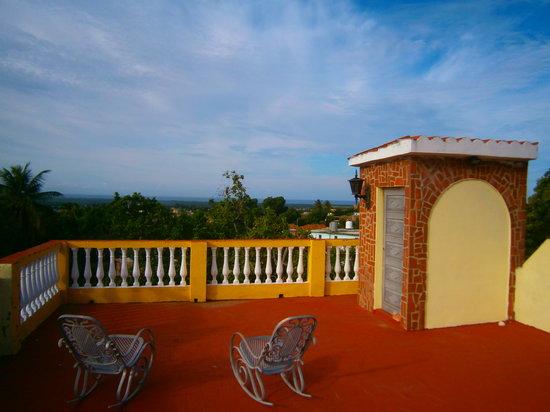 Hostal MiraLuna : terraza superior
