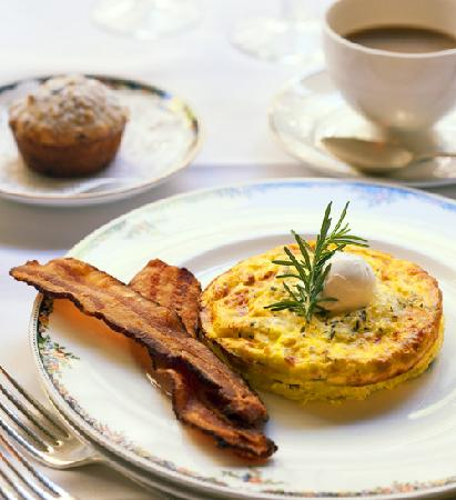 The Willows : We have a daily three course gourmet breakfast.