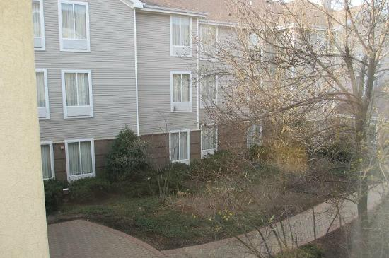 Hampton Inn and Suites Chicago Lincolnshire: 部屋からの中庭