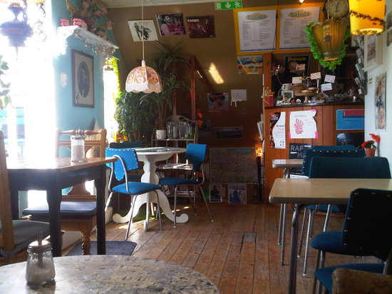 Cafe Babalu: Warm and cosy atmosphere