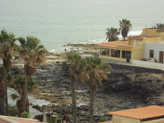 From the balcony picture of hovima jardin caleta la for Aparthotel hovima jardin caleta tenerife