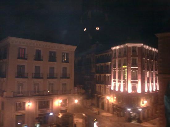 Hostal la Perla Asturiana: panorama la sera