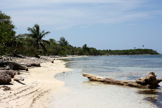 Kayak Utila: Our own private beach!