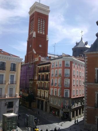 Hostal la Perla Asturiana: panorama dalla stanza