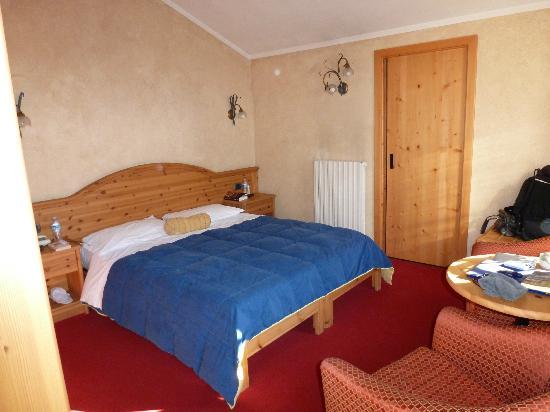 Hotel La Pastorella: notre chambre