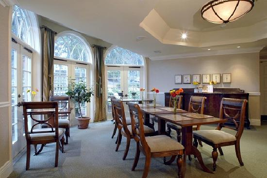 Harbour House Hotel: Breakfast room at Harbour House