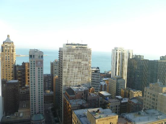 The Ritz-Carlton, Chicago: Lake Michigan from my room