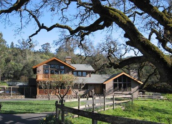 Kenwood Oaks Guest House: Driving in....