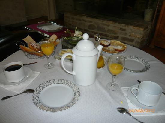 La Raimonderie : Petit déjeuner