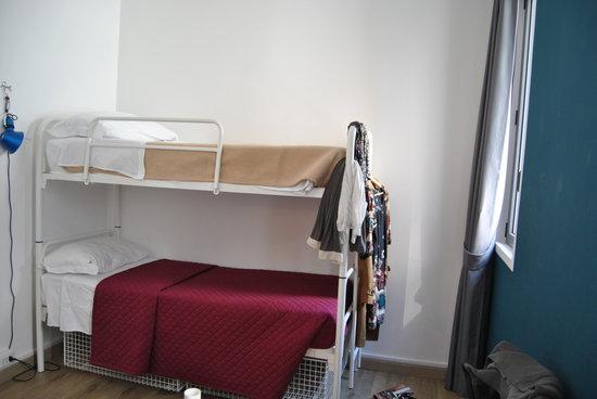 Ostello Bello: camera pulitissima