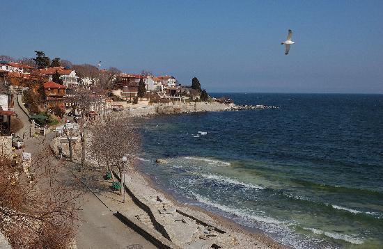 St. Stefan Boutique Hotel  Sunny Beach   BOJ: sea panorama nearby