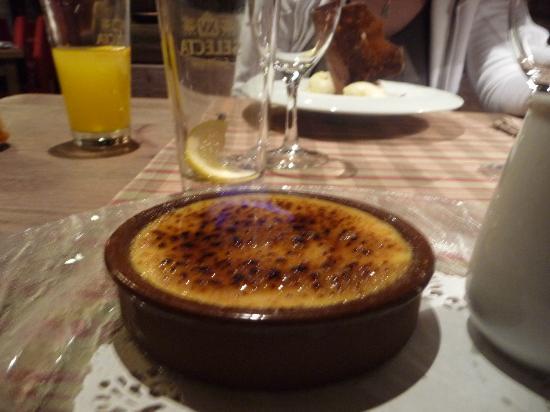 Hotel-Restaurante la Placa: Dessert