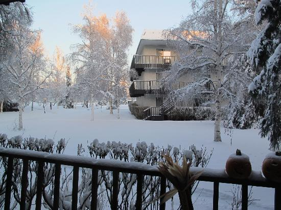 View of building in winter - Picture of Wedgewood Resort ...