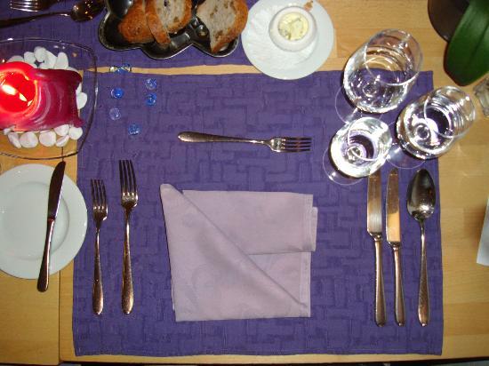 Restaurant Baren: Example layout