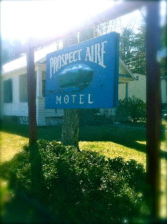 """Prospect Aire Motel: """"The Blue Sign"""""""