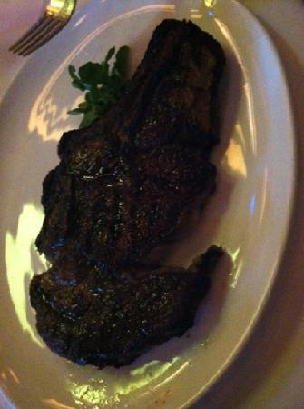 Jeff Ruby's Steakhouse: Cowboy steak