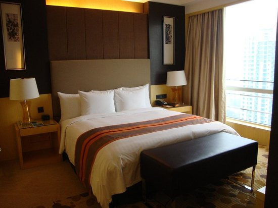 Courtyard by Marriott Shanghai Central: Nice design,nice bed.