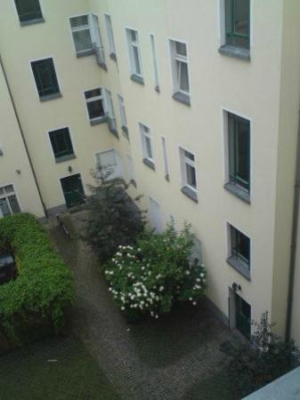 Old Town Apartments - Metzer Strasse: Widok z okna