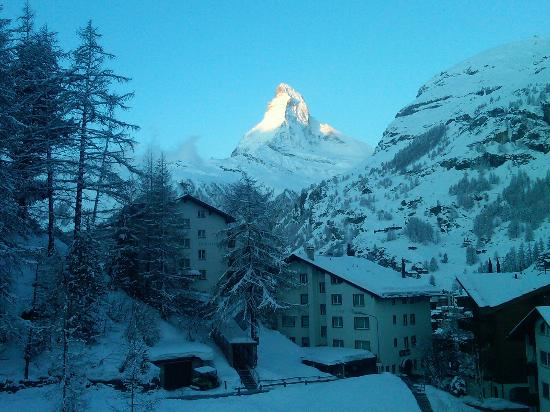 CERVO Zermatt: my view/alarm clock