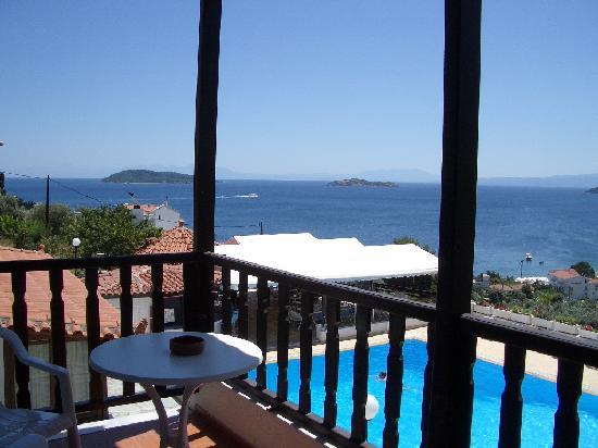 Hotel Rene: room view 1