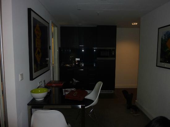 Adina Apartment Hotel Berlin Hackescher Markt  kitchen dinning room f76a079f3241