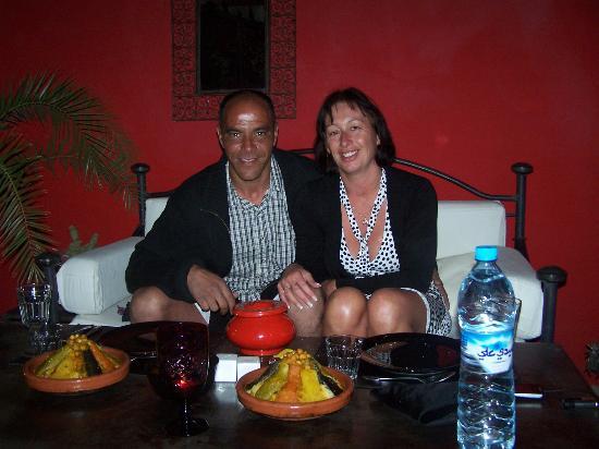 Riad Nejma Lounge: SOIREE COUSCOUS SUR LA TERRASSE