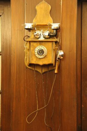 Waldhotel Forellenhof: vintage phone