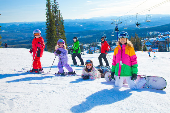Big White, Kanada: Family skiing