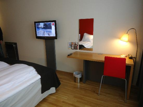 Thon Hotel Kirkenes: Bedroom