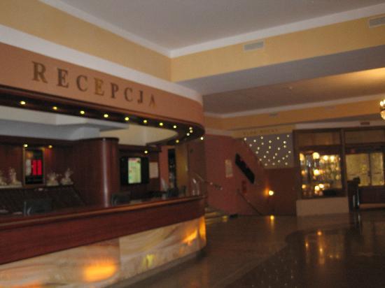 Hotel Golebiewski : Reception