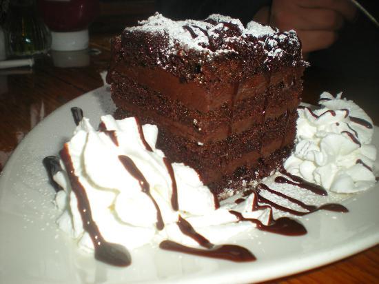 Black Dog Tavern : Knockout Chocolate Cake
