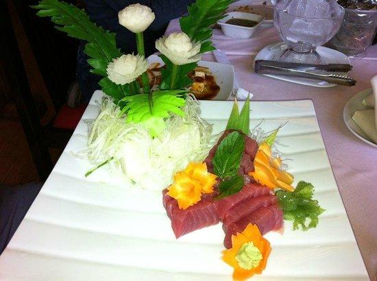 Suehiro : Sashimi de atún