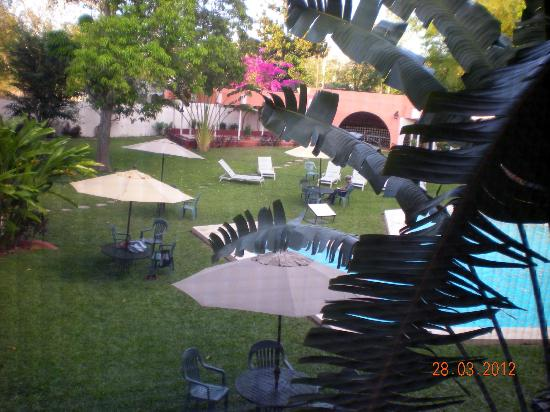 Hotel Chichen Itza : View from the room