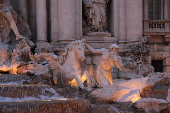 Trevi Fountain Close Up Picture Of Trevi Fountain Rome