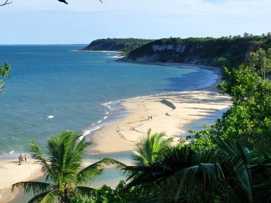 Praia do Espelho: a stunning view of the beach