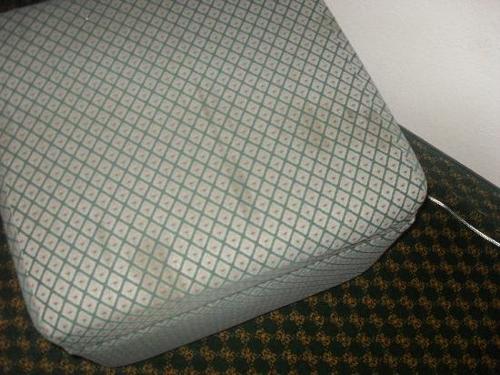 Motel 6 Indianapolis North East: Stains on the ottoman
