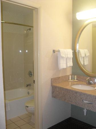 Motel 6 Indianapolis North East: Bathroom