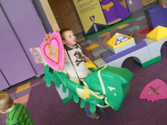 Portland Children's Museum: Lego Castle Adventure Exhibit 10-2011