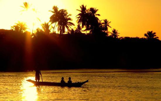 Ilha de Boipeba, BA : atardecer en Velha Boipeba